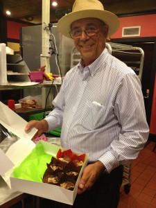 Chef Roux shows his delicious, sustainable chocolate cakes!
