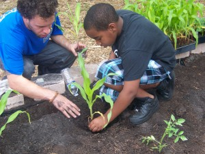 The Tampa Eden Project teaches people to grow their own food.