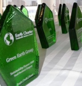 7 businesses took home a Sustainable Business Award.