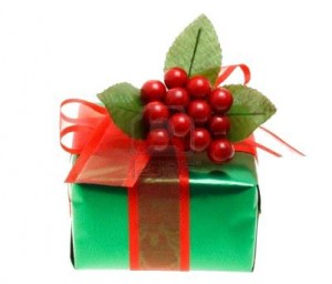 "Think ""greener"" when giving and presenting gifts!"