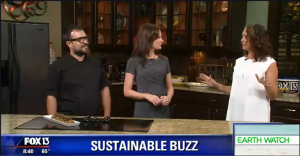 2017 Fox 13 Earth Watch Buzz Segment