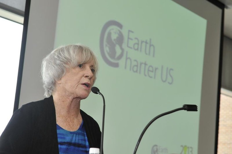 Jan Roberts, founder of Earth Charter US
